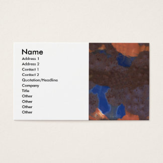 Abstract Color Blend Business Card