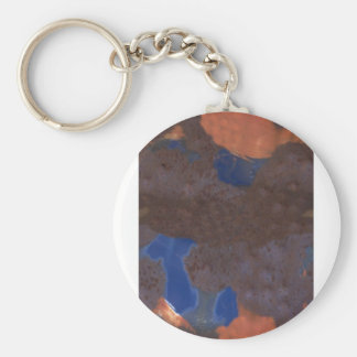 Abstract Color Blend Keychain