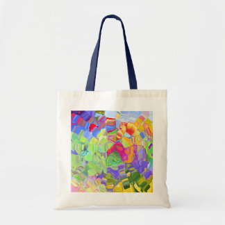 Abstract Color Canvas Bags
