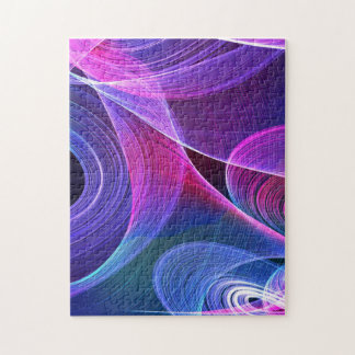 Abstract Color Custom Jigsaw Puzzles