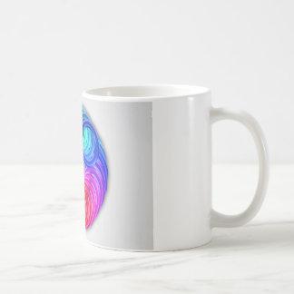 Abstract color design art coffee mug