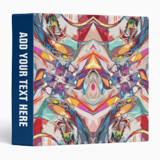 Abstract Color Mix Binder