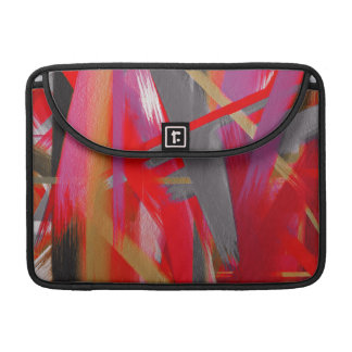 Abstract Color Paint Brush Stroke #10 MacBook Pro Sleeve