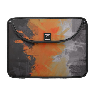 Abstract Color Paint Brush Stroke #2 Sleeve For MacBook Pro