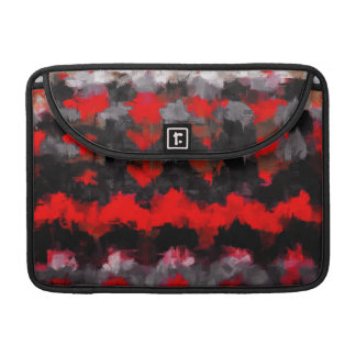 Abstract Color Paint Brush Stroke #4 Sleeve For MacBooks