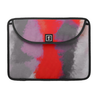 Abstract Color Paint Brush Stroke Sleeve For MacBook Pro