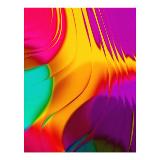 abstract color parade (L) Letterhead