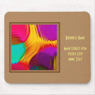 abstract color parade (L) Mouse Pad