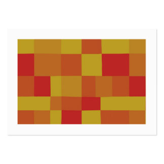 Abstract Color Patchwork Pattern 280913 (Bordered) Business Card