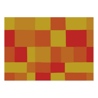 Abstract Color Patchwork Pattern 280913 Business Card Template