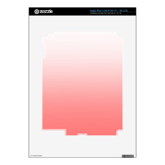 Abstract color - pink skin for iPad 3