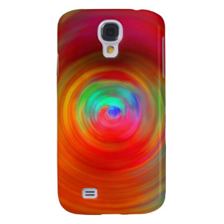 Abstract Color Ripples Samsung Galaxy S4 Case