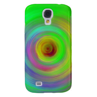 Abstract Color Ripples Samsung Galaxy S4 Cover