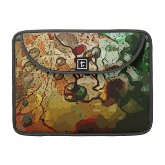 Abstract Color Sleeve For MacBooks
