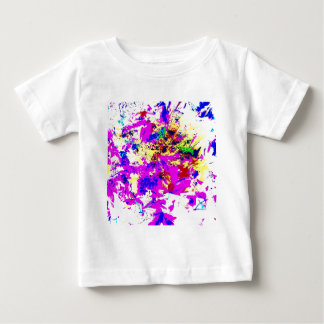 Abstract Color Splash Baby T-Shirt