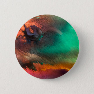 Abstract Color splash organic painting Pinback Button