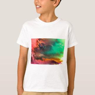 Abstract Color splash organic painting T-Shirt