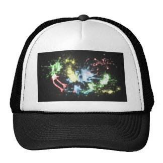 Abstract Color Splash Trucker Hat