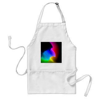 Abstract Color Wash Aprons