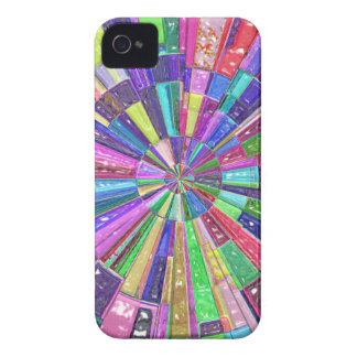 Abstract Color Wheel iPhone 4 Cover