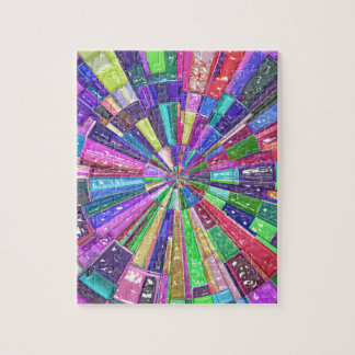 Abstract Color Wheel Jigsaw Puzzle