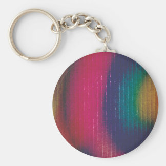 Abstract Colored Cardboard Keychain