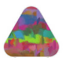 Abstract Colored Pastel Pattern Speaker
