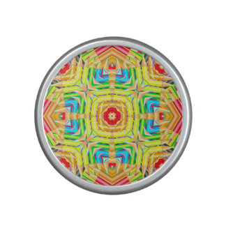 Abstract Colored Pencils Fractal Bluetooth Speaker