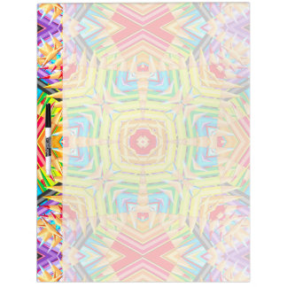 Abstract Colored Pencils Fractal Dry Erase Board
