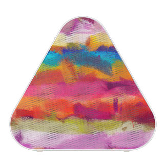 Abstract Colored Watercolor Pattern #5 Speaker