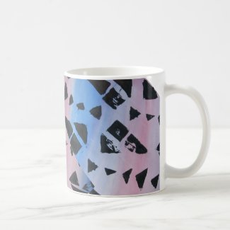Abstract Colorful 2 Mugs