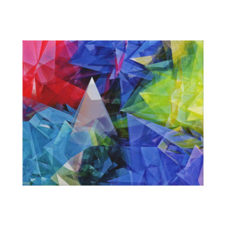 Abstract, Colorful 3D photo-realistic image thing Canvas Print