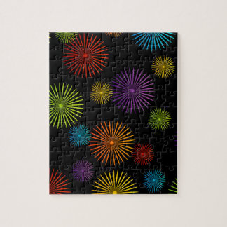 Abstract colorful background jigsaw puzzle