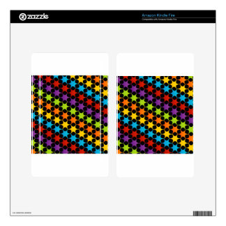 Abstract colorful background kindle fire skin