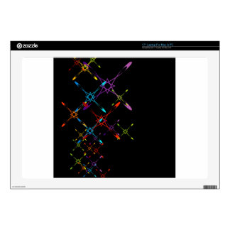Abstract colorful background laptop decal