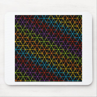 Abstract colorful background mouse pad