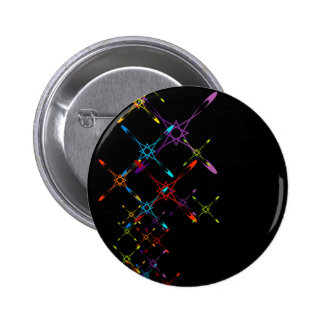 Abstract colorful background pinback button