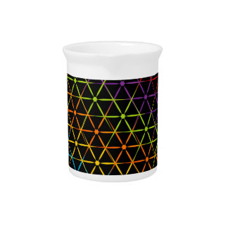 Abstract colorful background pitcher
