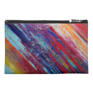 Abstract Colorful Bag Travel Accessory Bag