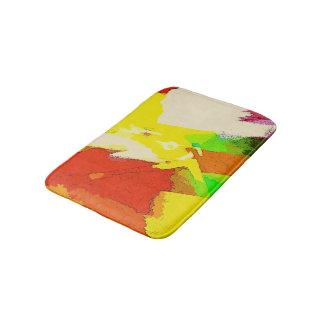 Abstract Colorful Bathroom Design Bath Mat