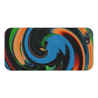Abstract Colorful Cartoon Duck iPhone 5 Case