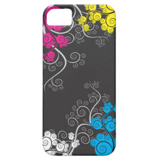 Abstract Colorful CMYk Vines iPhone SE/5/5s Case