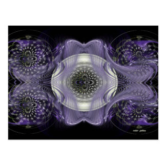 Abstract Colorful Design Postcard