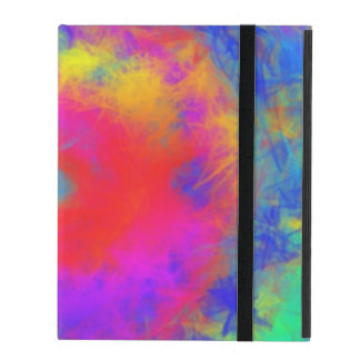 Abstract colorful disorder pattern iPad cover
