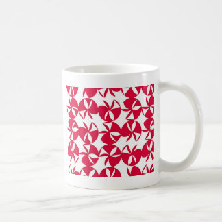 Abstract Colorful fan Classic White Coffee Mug