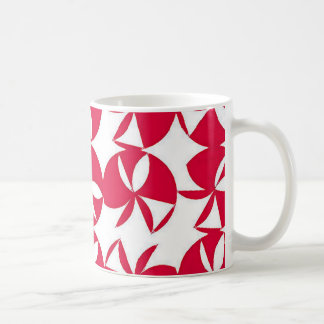 Abstract Colorful fan Coffee Mug