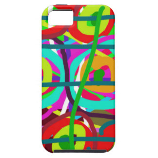 ABSTRACT COLORFUL GRAPHIC ART  GIFTS iPhone 5 COVER