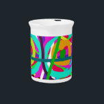 """ABSTRACT COLORFUL GRAPHIC ART  GIFTS DRINK PITCHER<br><div class=""""desc"""">ABSTRACT COLORFUL GRAPHIC ART  GIFTSABSTRACT COLORFUL GRAPHIC ART  GIFTS</div>"""