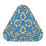 Abstract colorful hand drawn curly pattern design speaker