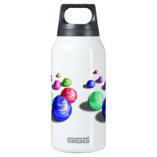 Abstract Colorful Marbles SIGG Thermo Bottle